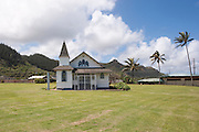 A small church on the windward side of Oahu.