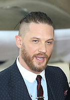 Tom Hardy, Dunkirk - World film premiere, Leicester Square Gardens, London UK, 13 July 2017, Allied soldiers from Belgium, the British Empire, Canada, and France are surrounded by the German army and evacuated during a fierce battle in World War II.