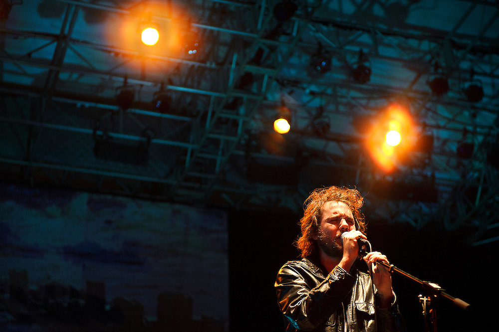 Broken Social Scene performing at Summerstage in Rumsey Playfield, Central Park NYC. September 18, 2010. Copyright © 2010 Matt Eisman. All Rights Reserved.