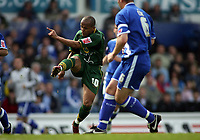 Rob Earnshaw blasts the opening gaol for Norwich City
