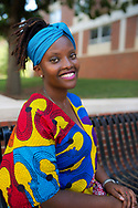 African Exchange students with the Mandela Fellowship Malerotholi Maseribane, of Lesotho, specializing in poultry