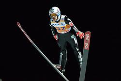 21.11.2014, Vogtland Arena, Klingenthal, GER, FIS Weltcup Ski Sprung, Klingenthal, Herren, HS 140, Qualifikation, im Bild Tom Hilde (NOR) // during the mens HS 140 qualification of FIS Ski jumping World Cup at the Vogtland Arena in Klingenthal, Germany on 2014/11/21. EXPA Pictures © 2014, PhotoCredit: EXPA/ Eibner-Pressefoto/ Harzer<br /> <br /> *****ATTENTION - OUT of GER*****