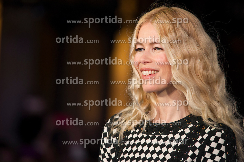 Claudia Schiffer attends the European premiere for &quot;Eddie the Eagle at Odeon Leicester Square in London, 17.03.2016. EXPA Pictures &copy; 2016, PhotoCredit: EXPA/ Photoshot/ Euan Cherry<br /> <br /> *****ATTENTION - for AUT, SLO, CRO, SRB, BIH, MAZ, SUI only*****