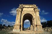 The old roman ruins of Leptis Magna,Unesco world heritage sight,Libya