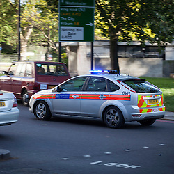 Police Car, London, UK