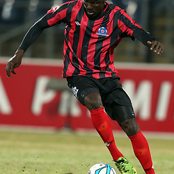 DURBAN, SOUTH AFRICA - AUGUST 03: Mohammed Awal of Maritzburg Utd during the Absa Premiership match between Maritzburg United and Polokwane City at Harry Gwala Stadium on August 03, 2013 in Durban, South Africa. (Photo by Steve Haag/Gallo Images)