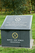 The Royal Air Force Canwell Memorial at the National Memorial Arboretum, Croxall Road, Alrewas, Burton-On-Trent,  Staffordshire, on 29 October 2018. Picture by Mick Haynes.