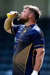 Richard Palframan of Worcester Warriors drinks iPro during training ahead of the Gallagher Premiership fixture against Harlequins - Mandatory by-line: Robbie Stephenson/JMP - 24/08/2020 - RUGBY - Sixways Stadium - Worcester, England - Worcester Warriors Training