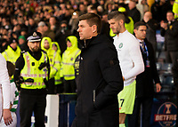 Football - 2019 Betfred Scottish League Cup Final - Celtic vs. Rangers<br /> <br /> Rangers manager Steven Gerrard before the match, Hampden Park Glasgow.<br /> <br /> COLORSPORT/BRUCE WHITE