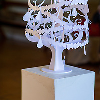 25 trees of Christmas exhibition Kuaotunu hall created by local artists coromandel event photography fleaphotos