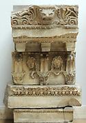 Temple of Zeus Philios (Trajaneum) Entablature marble, ca 115-130 AD.