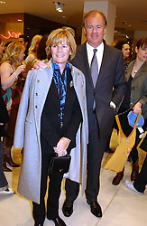 STEFAN & DENISE PERSSON he is chairman of Hennes & Maurit at a party to celebrate the opening of the new H&M Flagship Store at 17-21 Brompton Road, London SW3 on 23rd March 2005.<br /><br />NON EXCLUSIVE - WORLD RIGHTS