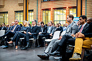 THE HAGUE - Queen Maxima attends the Fintech for Inclusion Summit 2019 at the Gemeentemuseum. It does this in its capacity of special advocate of the UN Secretary General for Inclusive Financing for Development.  copyrught robin utrecht