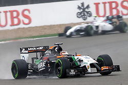 19.04.2014, International Circuit, Shanghai, CHN, FIA, Formel 1, Grand Prix von China, Qualifying Tag, im Bild Nico Hulkenberg (GER) Force India VJM07. // during the Qualifyingday of Chinese Formula One Grand Prix at the International Circuit in Shanghai, China on 2014/04/19. EXPA Pictures © 2014, PhotoCredit: EXPA/ Sutton Images/ Mina<br /> <br /> *****ATTENTION - for AUT, SLO, CRO, SRB, BIH, MAZ only*****