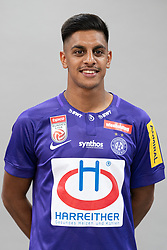 16.07.2019, Generali Arena, Wien, AUT, 1. FBL, FK Austria Wien, Fototermin, im Bild Manprit Sarkaria // Manprit Sarkaria during the official team and portrait photoshooting of tipico Bundesliga Club FK Austria Wien for the upcoming Season at the Generali Arena in Vienna, Austria on 2019/07/16. EXPA Pictures © 2019, PhotoCredit: EXPA/ Florian Schroetter