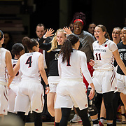 03 March 2017: The San Diego State Aztec's women's basketball team hosts New Mexico for seniors night as they close out regular season play.<br /> www.sdsuaztecphotos.com
