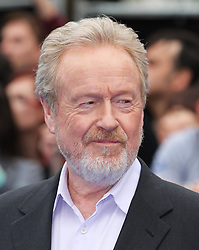 Sir Ridley Scott  arriving for the premiere of  Prometheus, in London on Thursday, 31st May 2012.  Photo by: Stephen Lock / i-Images