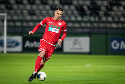 Ante Živković of Aluminij during football match between NŠ Mura and NK Aluminij in 17th Round of Prva liga Telekom Slovenije 2019/20, on November 10, 2019 in Fazanerija, Murska Sobota, Slovenia. Photo by Blaž Weindorfer / Sportida