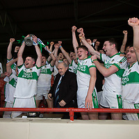 Kanturk team presented with the cup