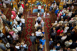 August 28, 2017 - Czyze, Poland - On August 28 (August 15, Old Style), the Orthodox Church celebrates the Feast of the Dormition of the Most Holy Theotokos. Flowers and herbs  are blessed in church, and people keep them in their homes. (Credit Image: © Velar Grant via ZUMA Wire)