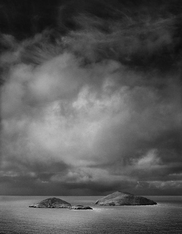 Scariff and Deenish Islands, County Kerry, Ireland.