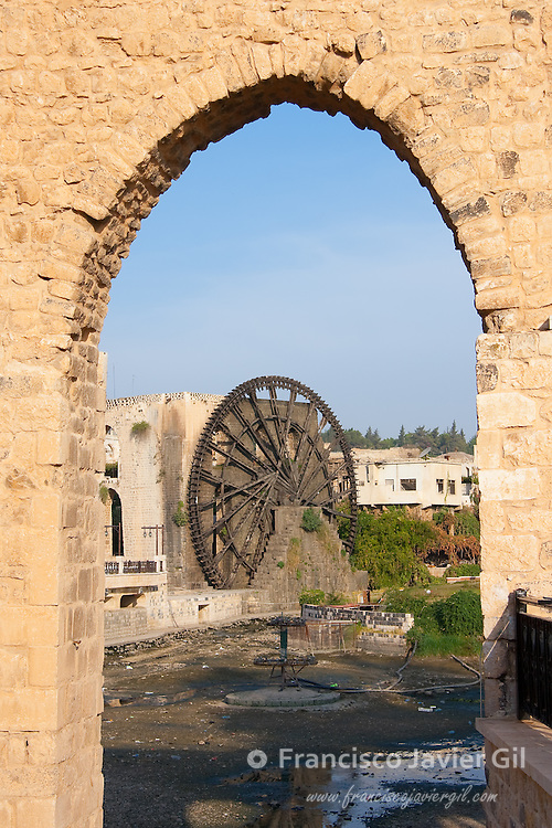 Waterwheel in Hama, Syria
