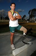 Don Elgin, who is a below the knee amputee Paralympian in Pentathlon events