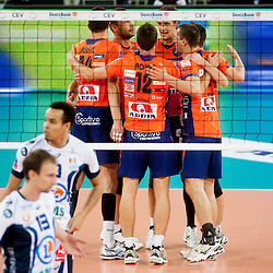 20131105: SLO, Volleyball - CEV Champions League, ACH Volley vs Tours VB