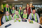 Guests during the EFL Sky Bet League 2 match between Forest Green Rovers and Mansfield Town at the New Lawn, Forest Green, United Kingdom on 24 March 2018. Picture by Shane Healey.