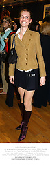 MISS CHLOE DELEVINGNE at a reception in London on 16th March 2004.PSK 82