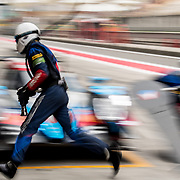 WEC contenders take part in the 2017 WEC 6 Hours of Shanghai race.  The FIA hosts round seven of the 2017 World Endurance Championship at the Shanghai International Circuit in China.