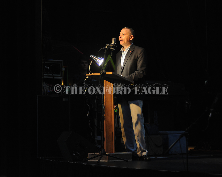 Ralph Eubanks speaks at the 17th annual Southern Foodways Symposium on Sunday, October 26, 2014.