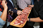 New York, NY - November 7, 2017: Chefs from the Farm to Table Event Company in South Carolina present a Feast from the Columbia Farm at the James Beard House.<br /> <br /> <br /> CREDIT: Clay Williams for The James Beard Foundation.<br /> <br /> &copy; Clay Williams / claywilliamsphoto.com