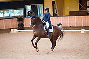 Lisanne Zoutendijk - Kostendrukker's Watteau<br /> KNHS Indoorkampioenschappen 2018<br /> © DigiShots