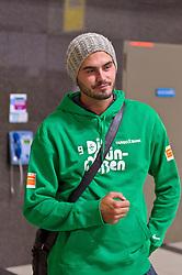 03.01.2011, Flughafen, Antalya, TUR, Ankunft Werder Bremen Trainingslager Belek Tuerkei 2011, im Bild Denni Avdic ( Werder #09 )    EXPA Pictures © 2011, PhotoCredit: EXPA/ nph/  Kokenge       ****** out ouf GER ******