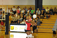 Lafayette High vs. Madison St. Joseph's in high school playoff action in Madison, Miss. on Wednesday, October 5, 2011. St. Joseph's won 25-18, 25-22, and 25-20.