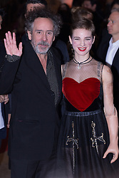 December 5, 2016 - Rome, Italy - Visionary director Tim Burton and Italian Olympic Athlete Beatrice Vio attend the Italian premiere of ''Miss Peregrine's Home For Peculiar Children'' at Auditorium della Conciliazione in Rome. (Credit Image: © Barbara Como/Pacific Press via ZUMA Wire)