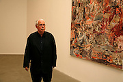 HOWARD HODGKIN, New work by Cecily Brown. Gagosian. Brittania St. London. 31 March 2006. ONE TIME USE ONLY - DO NOT ARCHIVE  © Copyright Photograph by Dafydd Jones 66 Stockwell Park Rd. London SW9 0DA Tel 020 7733 0108 www.dafjones.com
