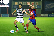 Forest Green Rovers Fabien Robert(26) on the ball during the Vanarama National League match between Aldershot Town and Forest Green Rovers at the EBB Stadium, Aldershot, England on 4 October 2016. Photo by Shane Healey.