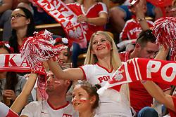 21-09-2019 NED: EC Volleyball 2019 Poland - Spain, Apeldoorn<br /> 1/8 final EC Volleyball / Support Poland