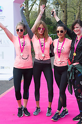 © Licensed to London News Pictures. 23/04/2016. MILLIE MACKINTOSH takes part in the inagural Lady Garden 5km Run.  London, UK. Photo credit: Ray Tang/LNP