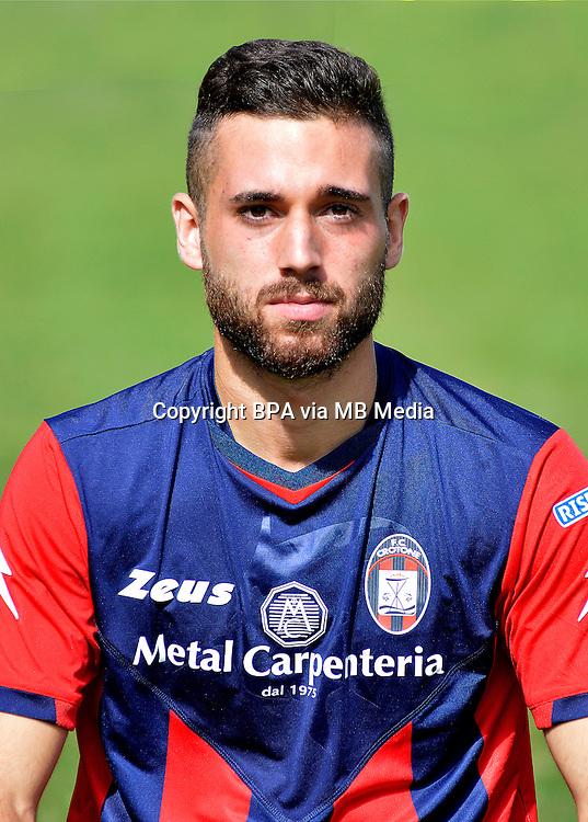 Italian League Serie B_2015-2016 / <br /> ( Fc Crotone ) - <br /> Giuseppe Marco Zampano
