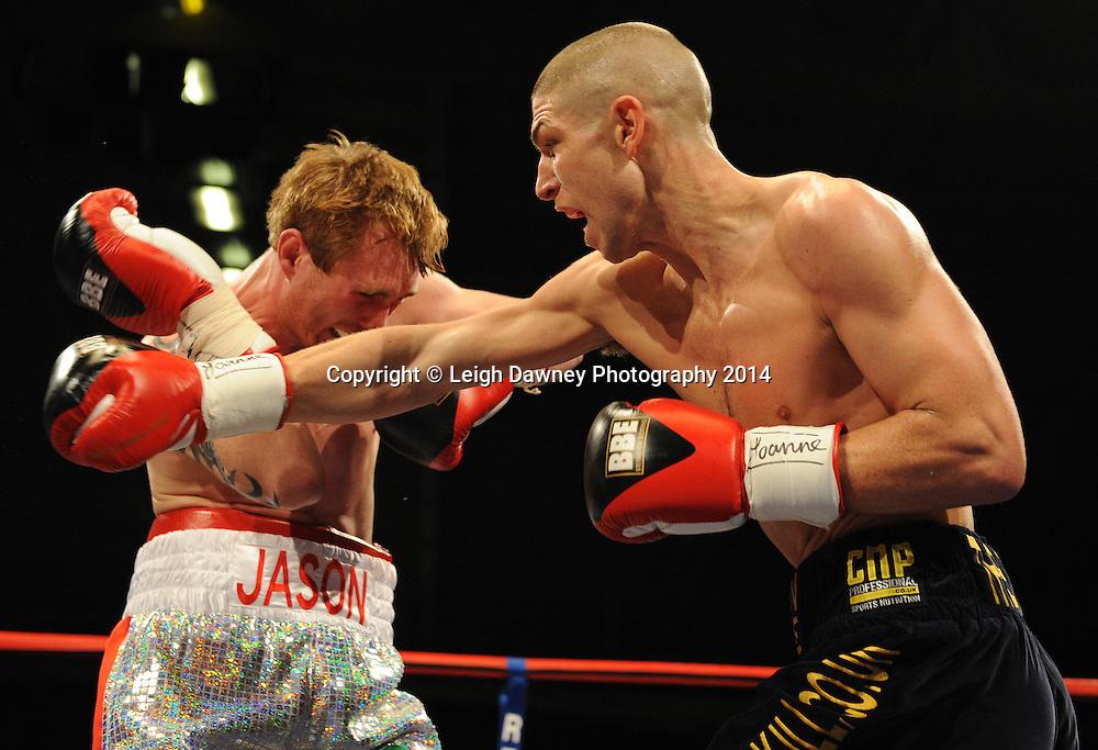 Brian Rose v Jason Rushton, Bolton Arena, 23rd September 2009. Frank Maloney Promotions © Credit: Leigh Dawney Photography 2009.