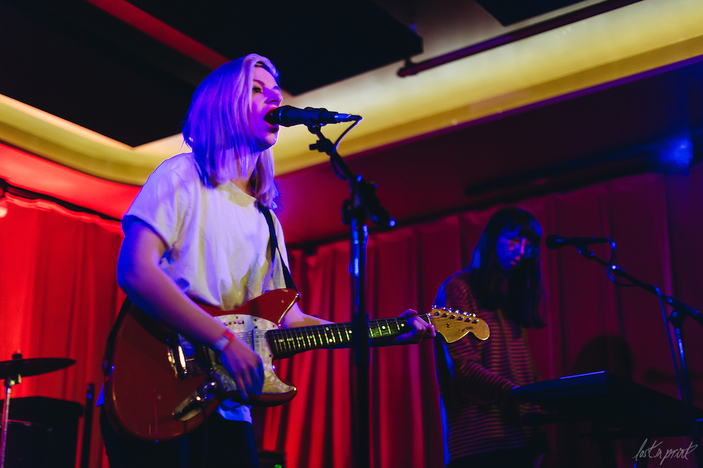 Alvvays performs at Barboza on Tuesday, December 2, 2014.
