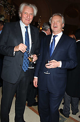 Left to right, LORD HESELTINE and DAVID DAVIS MP at The Business Winter Party hosted by Andrew Neil at The Ritz Hotel, Piccadilly, London on 7th December 2005.<br /><br />NON EXCLUSIVE - WORLD RIGHTS
