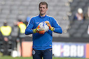 QPR Goalkeeper Alex Smithies during the Sky Bet Championship match between Milton Keynes Dons and Queens Park Rangers at stadium:mk, Milton Keynes, England on 5 March 2016. Photo by Dennis Goodwin.