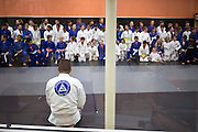Overall during a jiu-jitsu lesson at US Blackbelt Academy on Thursday, March 26, 2015 in Laguna Niguel, Calif. (Photo/Josh Barber)
