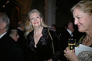 Lady Borg Scott. The Royal Academy Schools dinner and auction. Royal Academy. London. 27 March 2007.  -DO NOT ARCHIVE-© Copyright Photograph by Dafydd Jones. 248 Clapham Rd. London SW9 0PZ. Tel 0207 820 0771. www.dafjones.com.