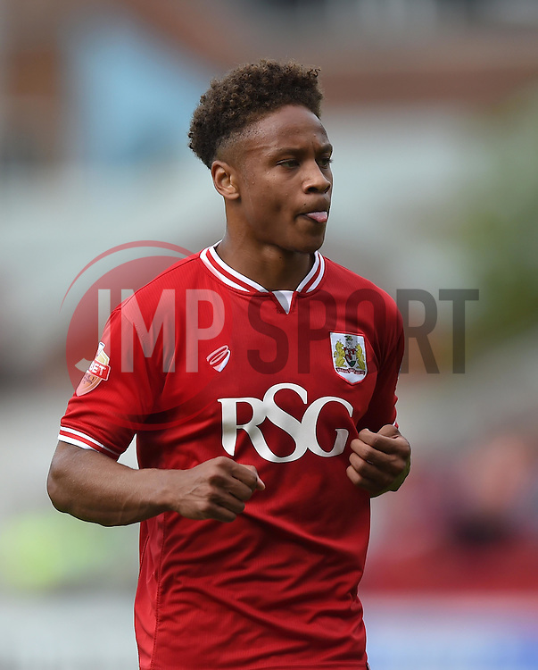 Bobby Reid of Bristol City - Mandatory by-line: Paul Knight/JMP - Mobile: 07966 386802 - 29/08/2015 -  FOOTBALL - Ashton Gate Stadium - Bristol, England -  Bristol City v Burnley - Sky Bet Championship