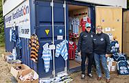 FCH Shoppen åbner før kampen i NordicBet Ligaen mellem FC Helsingør og Lyngby Boldklub den 25. maj 2019 på Helsingør Stadion. (Foto: Claus Birch / ClausBirchDK Sportsfoto).